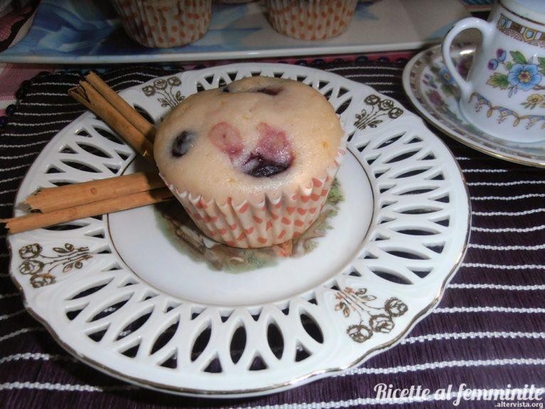Muffin senza glutine alle more