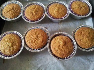 Muffin senza lattosio e senza glutine