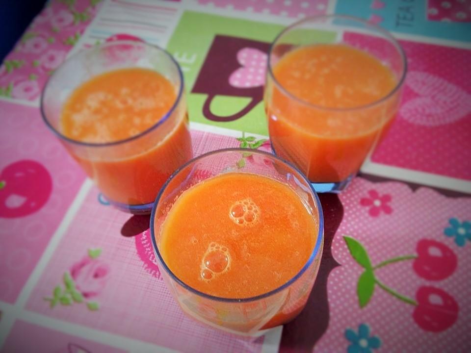 frullato carote e zenzero