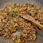 Quinoa mista alle zucchine 5