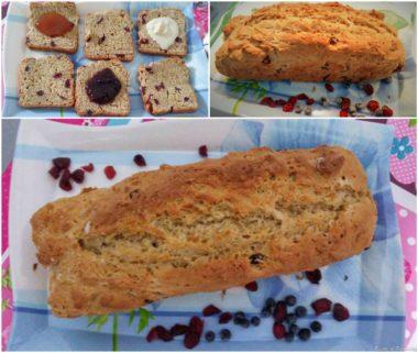 Pane dolce senza lievito di birra (soda bread dolce)