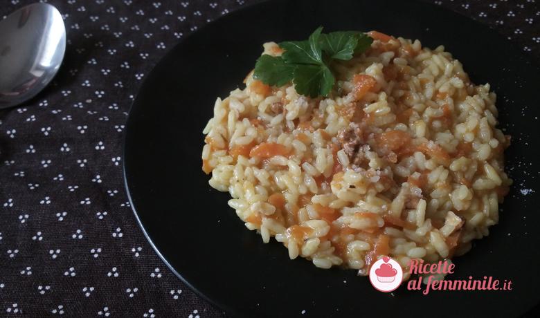 Risotto carote, mandorle e zenzero 7