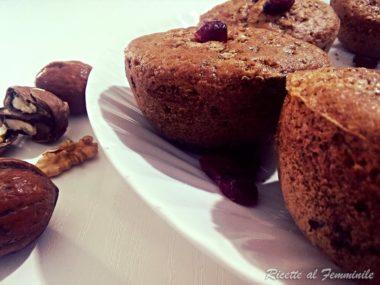Muffin grano saraceno gluten free