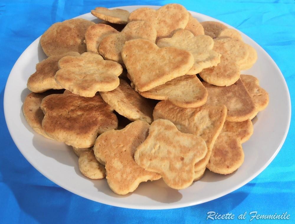 biscotti vegan al latte di mandorla