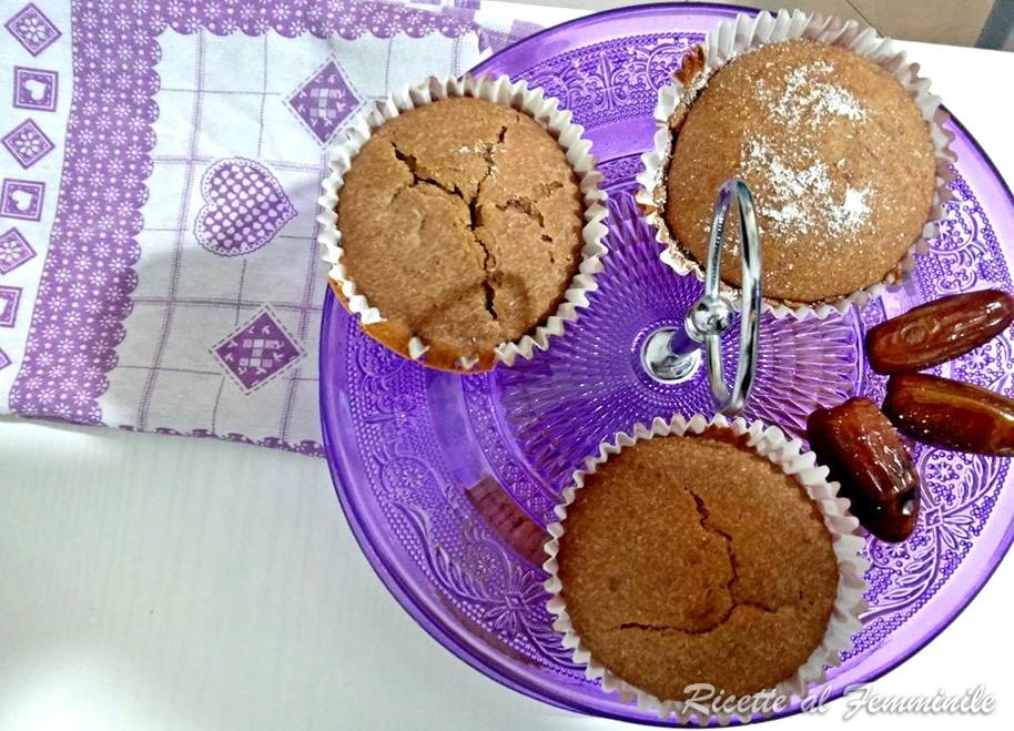 Muffin senza zucchero e gluten free