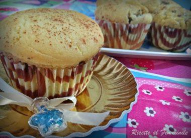 Muffin alla ricotta al profumo di cannella e limone