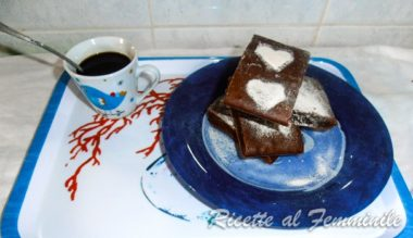 Brownie ricetta light con yogurt