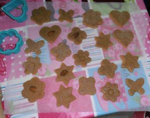 Biscotti mandorle, avena e farro 5