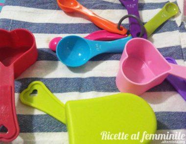Misure in cucina – equivalenze