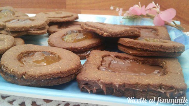 biscotti senza glutine e senza latte con farina di Teff