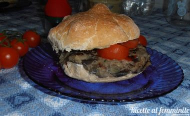 Hamburger di melanzane light (senza uova)