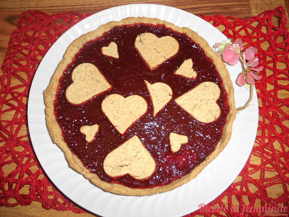 crostata vegana integrale