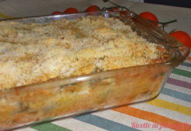 Sformato fagiolini e patate