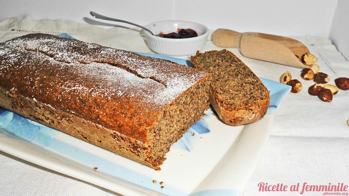 Plumcake al grano saraceno senza lattosio e senza glutine 3