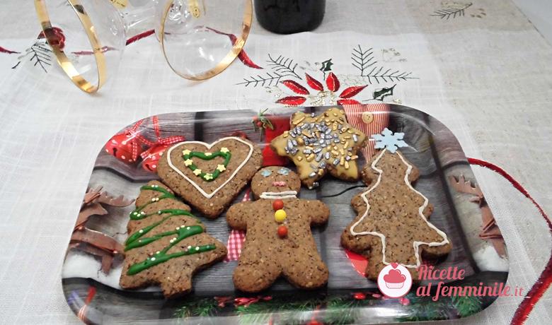 Biscotti senza glutine al grano saraceno versione natalizia 5