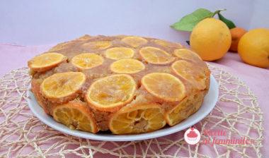 Torta all'arancia con il bimby