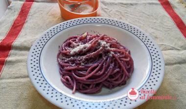 Pesto di carote viola con bimby
