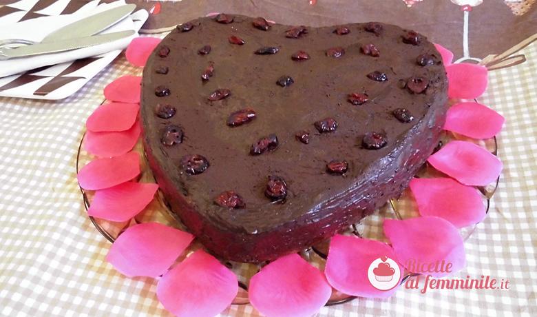 Torta cioccolato e marmellata di lamponi 1