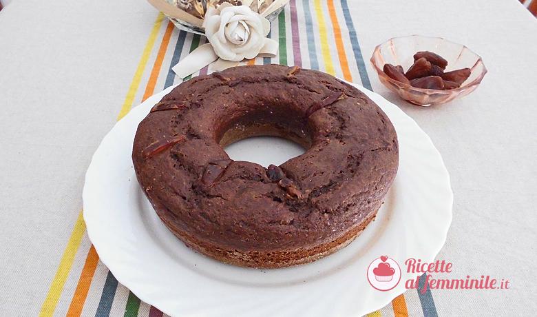 Torta datteri e cioccolato 9