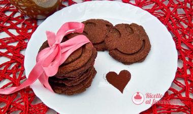 Biscotti senza zucchero al cioccolato