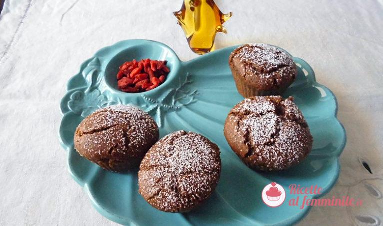 Muffin al grano saraceno e bacche di goji: senza glutine e lattosio - muffin-grano-saraceno-e-bacche-di-goji-766x452