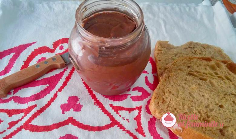 Crema ai datteri e cioccolato con bimby 1