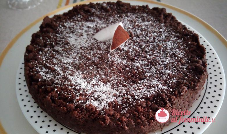 Sbriciolata cioccolata e cocco 1