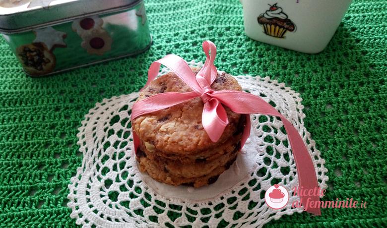 Biscotti al burro di arachidi e cioccolato 1