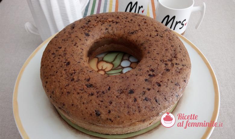 Torta zucca e cioccolato 4
