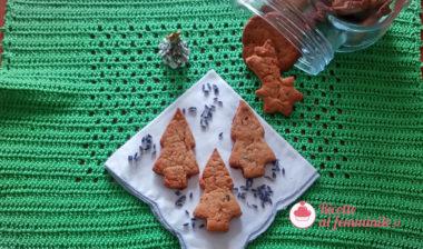Biscotti alla lavanda vegani