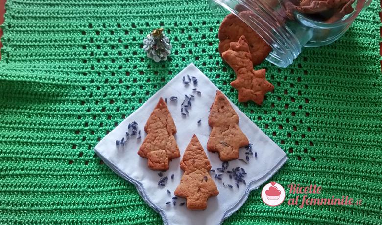 Biscotti alla lavanda vegani 8