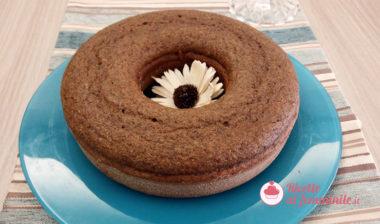 Torta al caffè e nocciole con farina di grano saraceno