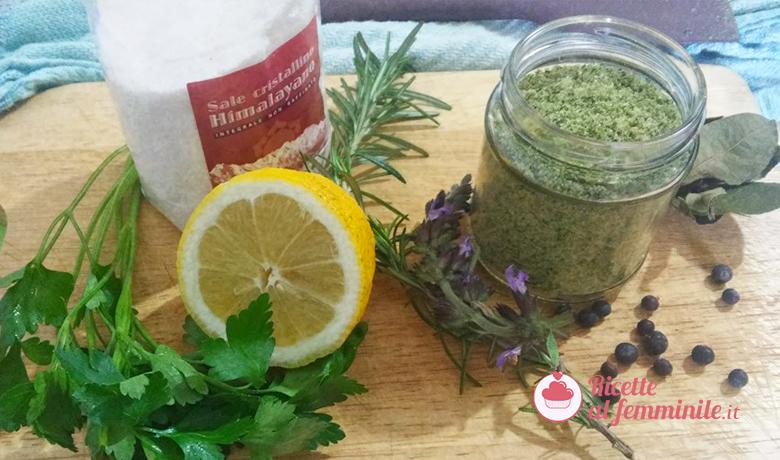 Come fare il sale aromatizzato 1