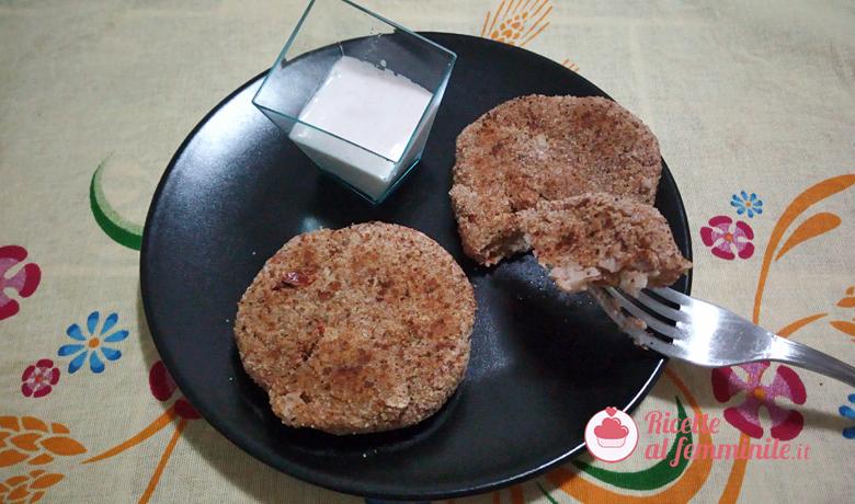Hamburger di fagioli vegetariani 6