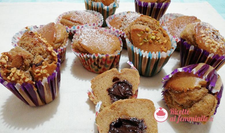 Muffin con ovetto di cioccolato 7