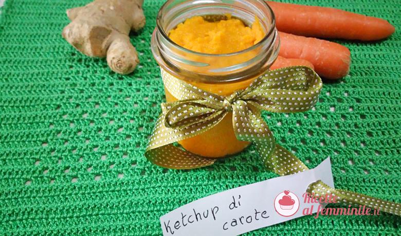 Ketchup di carote 1