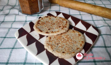 Ricetta piaya muscovado (Muscovado Flatbreads)