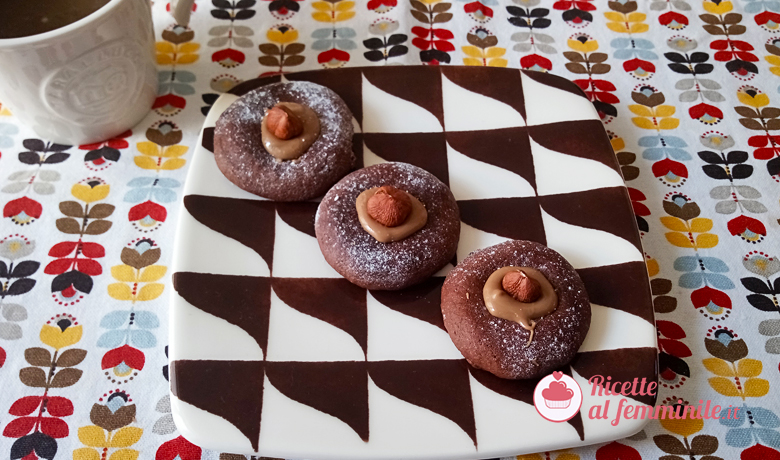 Biscotti nutellotti 1