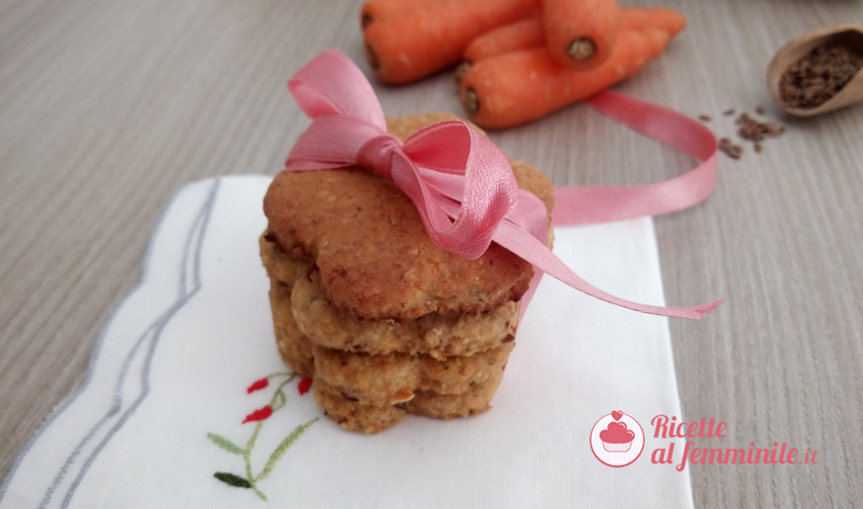 Biscotti alle carote e nocciole 5