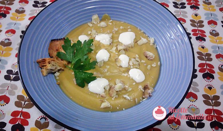 Vellutata vegan di patate dolci, zucca e castagne 3