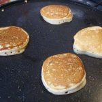 Pancake senza burro con lo yogurt 5