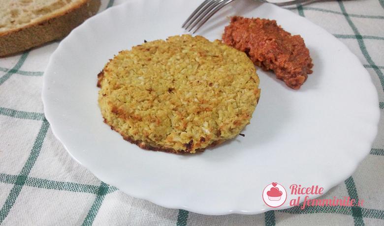 Hambuger di cavolfiore vegetariani 3