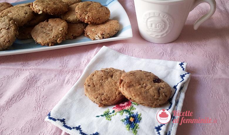 Biscotti grancereale senza uova e senza lattosio 1