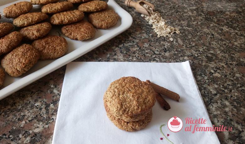 Biscotti ai fiocchi d'avena con il bimby 5