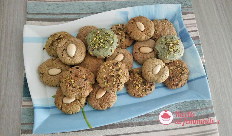 Ricetta Pistacchiotti-biscotti al pistacchio 1