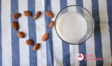Ricetta del latte di mandorla con il bimby
