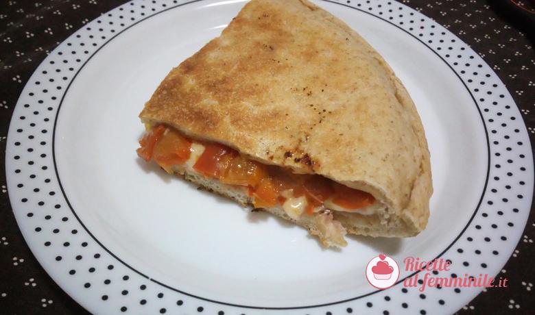 Pizza in padella con esubero di pasta madre 1