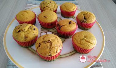 Muffin alla zucca senza lattosio