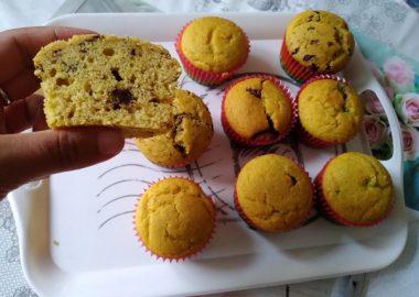 Muffin alla zucca senza lattosio 4