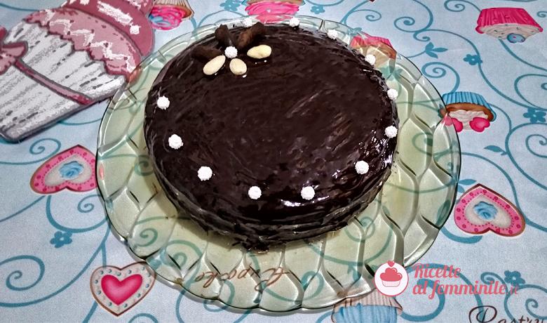 Torta al cioccolato e marmellata di albicocche con il bimby 1